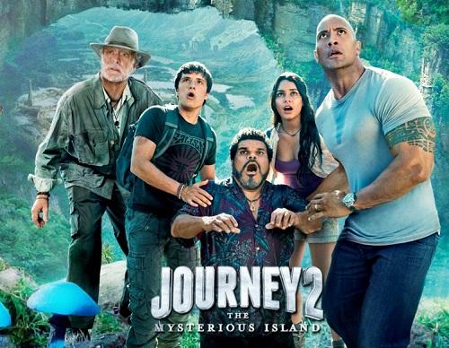 кто озвучивает путешествие 2: таинственный остров